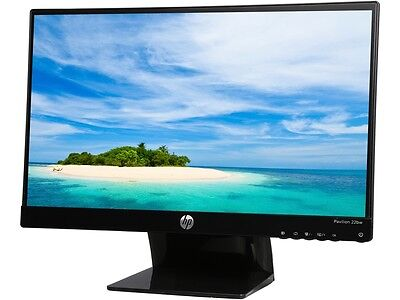 "شاشة ليد  HP 22BW Black 21.5"" 7ms HDMI Widescreen LED Backlight LCD Monitor IPS 1 year war"