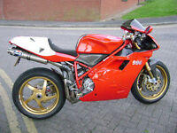 Ducati 996 SPS, 2000 Ohlins model,immaculate collectors item, poss P.X. cheaper bike