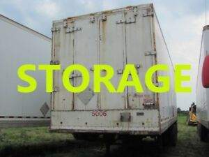1992 MANAC  STORAGE BOX DRY VAN 28'