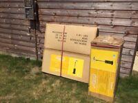 patio heater - gas- freestanding - still in packaging