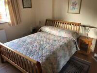 Furnished double room and bathroom, with or without own sitting room.
