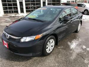 2012 Honda Civic Sdn LX...PERFECT COND....ONLY $9900.