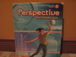 Perspective Mathématique, 1er cycle du secondaire, Volume 2