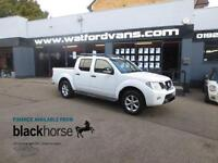 2013 Nissan Navara Tekna Connect 2.5DCi 4x4 Double Cab A/C SatNav Leather Alloys