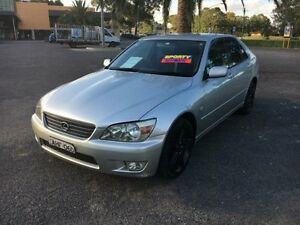 1999 Lexus IS200 GXE10R Sports Silver Automatic Sedan Cabramatta Fairfield Area Preview