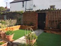 Garden maintenance, mowing,strimming, tidy, jet washing, fencing, decking & general outdoor projects
