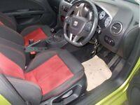 SEAT LEON 2.0 FR CR TDI 5d 168 BHP (yellow) 2010