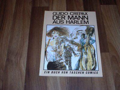 Guido Crepax -- MANN aus HARLEM // 1. Auflage 1984