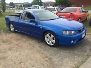 2006 Ford Falcon BF MkII XR6 Blue 4 Speed Auto Seq Sportshift Utility Officer Cardinia Area Preview