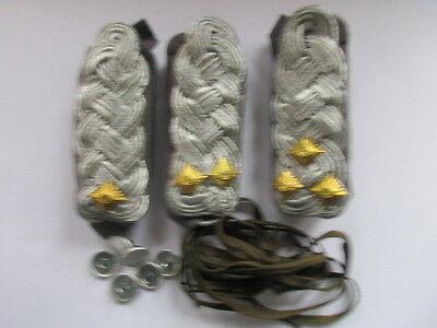 NVA 3 paar Schulterstücke Luftverteidigung grau Major - Oberst