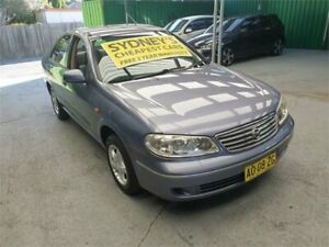 2004 Nissan Pulsar N16 MY2004 ST Blue 4 Speed Automatic Sedan Croydon Burwood Area Preview