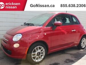 2012 Fiat 500 POP: Auto, Bluetooh, Cruise