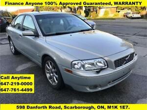 2004 Volvo S80  FINANCE 100% APPROVED WARRANTY