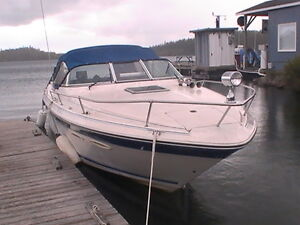 26' searay boat and trailer