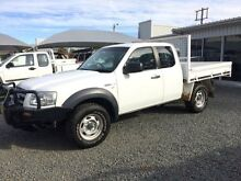 2007 Ford Ranger PJ 07 Upgrade XL (4x4) White 5 Speed Manual Super Cab Chassis Gloucester Gloucester Area Preview