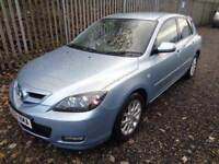 MAZDA 3 TAKARA 2008 1.6 PETROL 5 DOOR BLUE 72,000 MILES M.O.T 29/05/18 EXCELLENT CONDITION