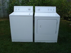 Kenmore washer and dryer set- free delivery