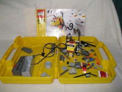 Lego Inventor# 4094 Motor Movers Set w/ Storage Case & Instructions Book