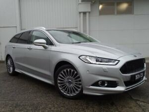 2017 Ford Mondeo MD 2017.00MY Titanium PwrShift Silver 6 Speed Sports Automatic Dual Clutch Wagon Bundoora Banyule Area Preview