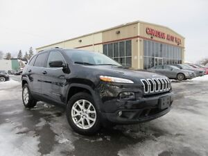 2015 Jeep Cherokee NORTH, 4X4, A/C, ALLOYS, 53K!