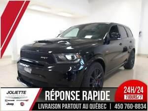2018 Dodge Durango SRT TOUTE ÉQUIPÉ NOIR SUR NOIR