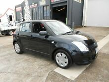2008 Suzuki Swift RS415 Black 5 Speed Manual Hatchback Yeerongpilly Brisbane South West Preview