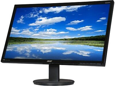 "شاشة ليد جديد Acer KN242HYL Black 23.8"" 4ms (G to G) HDMI Widescreen LED Backlight LCD Monitor"