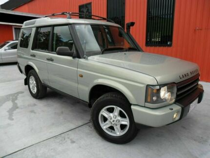 2003 Land Rover Discovery 03MY Td5 Green 4 Speed Automatic Wagon Molendinar Gold Coast City Preview