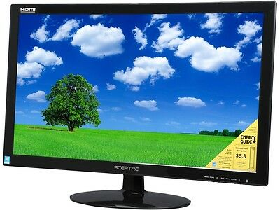 "شاشة ليد جديد SCEPTRE E275W-1920 Black 27"" 5ms HDMI LED Backlight LCD Monitor"