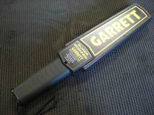 Metal Detector--Garrett Super Scanner--Works Well--Security Singleton Rockingham Area Preview