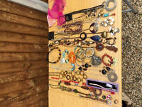 jewellery assortment ( ideal for presents or car boot)