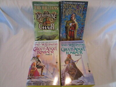 Memory Sorrow and Thorn Series by Tad Williams 4 Paperback Book (Tad Williams Memory Sorrow And Thorn Series)