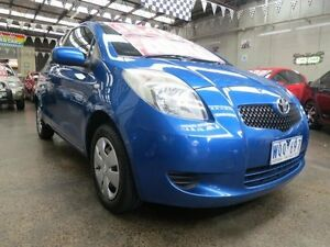2008 Toyota Yaris NCP90R YR 4 Speed Automatic Hatchback Mordialloc Kingston Area Preview