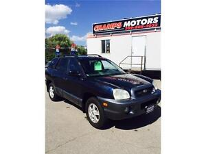 2004 Hyundai Santa Fe AWD LEATHER SUNROOF CERTIFIED