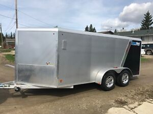 2014 Motorcycle aluminum cargo Trailer (ALL ALUMINUM FRAME)