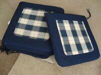 Garden Furniture Chair Cushons x 6