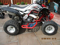 ROAD LEGAL YAMAHA RAPTOR 660 YFM