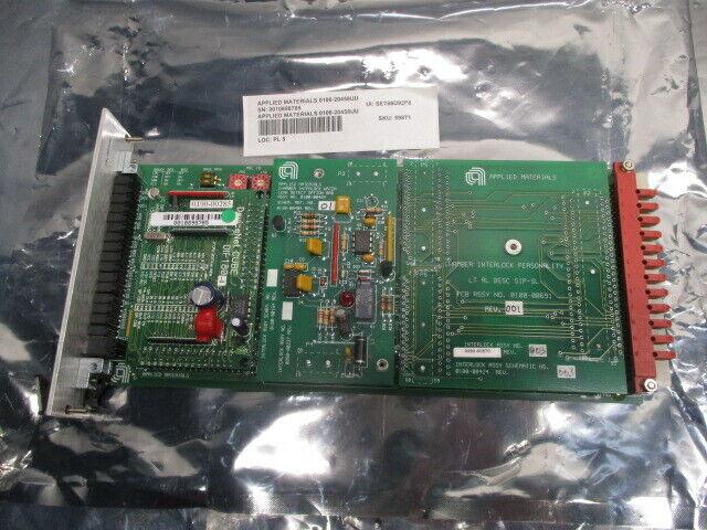 AMAT 0100-20458 PVD SIP CU TA/AL Interlock PCB, Configurable, 102368