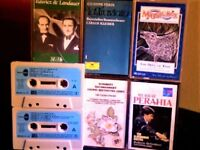 ANOTHER 20+ COMPOSERS ON YET MORE CLASSICAL PRERECORDED CASSETTE TAPES, ONLY 50p EACH. LOTS TO COME.