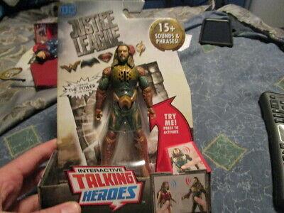 Mattel - DC Justice League Interactive Talking Heroes - Aquaman