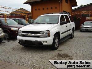 2004 CHEVROLET TRAILBLAZER EXT LS 4X4.
