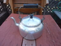 Antique Chrome Kettle - Delivery