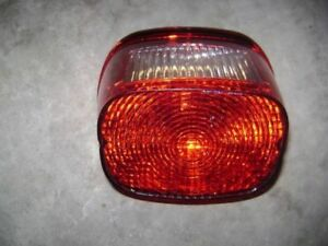 Sportster Dyna Softail tail light. New. Take off