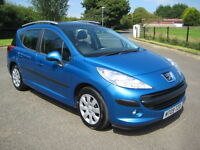 ***** 2009 PEUGEOT 207 1.6 HDI SW **** EXCELLENT EXAMPLE & GLASS SUNROOF MODEL *****