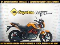 2017 KSR MOTO GRS EFI 125CC, 0% DEPOSIT FINANCE AVAILABLE
