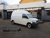 2008 Volkswagen Transporter T30 1.9TDi 84ps LWB High Roof *Only 47,000 miles* Di