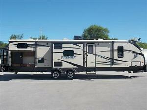 2016 KEYSTONE  PREMIER 34BHPR TRAVEL TRAILER