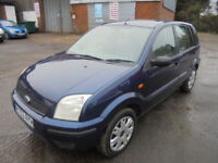 Ford Fusion 1.4 16v 2 (blue) 2003