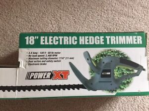 "18"" ELECTRIC HEDGETRIMMER BRAND NEW"