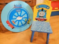 Table et chaises THOMAS LE TRAIN